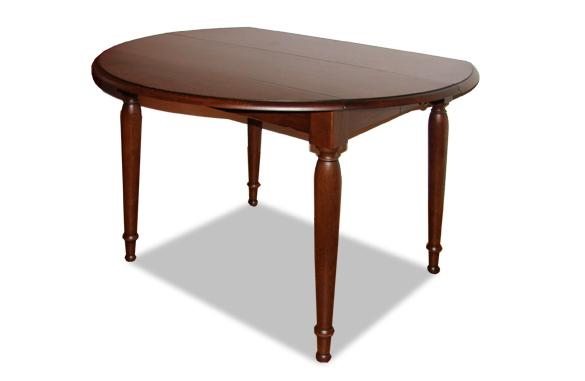 Table à volets en chene massif avec allonges