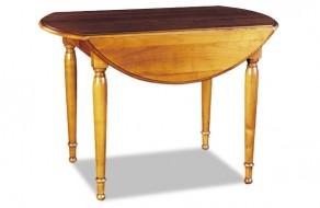 Table a volets en merisier ou chêne