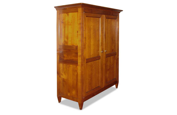 armoire louis xvi en merisier meubles hummel. Black Bedroom Furniture Sets. Home Design Ideas