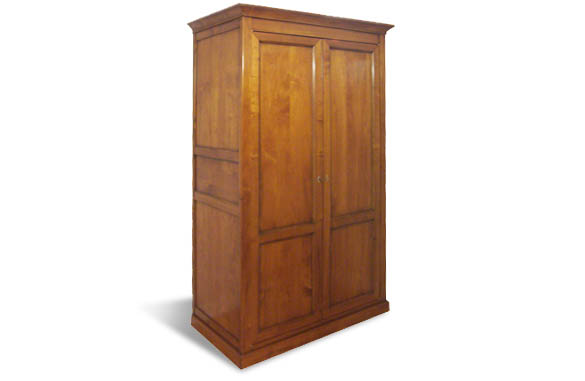 armoire louis philippe 2 portes meubles hummel. Black Bedroom Furniture Sets. Home Design Ideas
