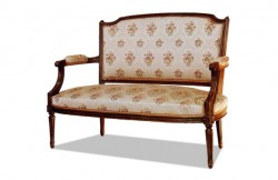 chaise louis xvi m daillon cuir meubles hummel. Black Bedroom Furniture Sets. Home Design Ideas