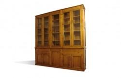 Bibliothèque Louis-Philippe en massif sur mesure