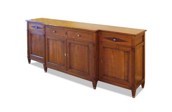 buffet style directoire merisier meubles hummel. Black Bedroom Furniture Sets. Home Design Ideas