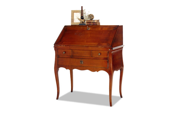 bureau dos d 39 ane louis xv meubles hummel. Black Bedroom Furniture Sets. Home Design Ideas