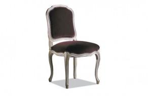 Chaise Louis XV dos plat