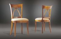 Chaise merisier massif