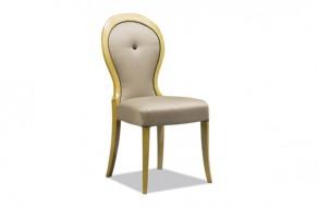Chaise moderne medaillon