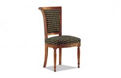 Chaise style directoire tissu
