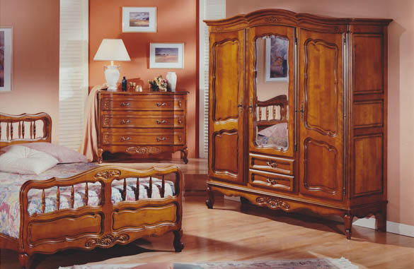 chambre louis xv meubles hummel. Black Bedroom Furniture Sets. Home Design Ideas