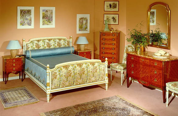 chambre style louis xvi meubles hummel. Black Bedroom Furniture Sets. Home Design Ideas