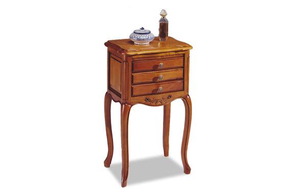 Chevet tiroirs Louis XV copia