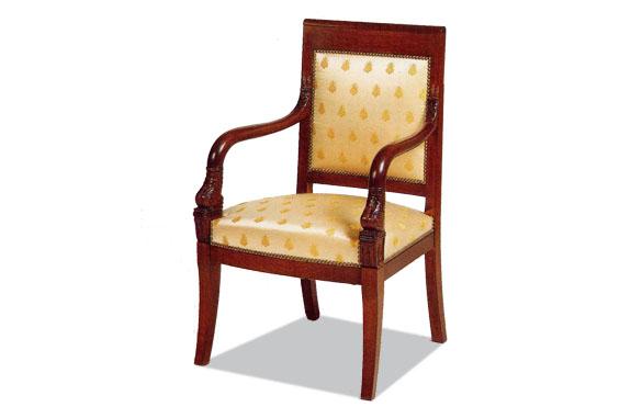 Fauteuil empire meubles hummel - Carcasse de fauteuil a restaurer ...
