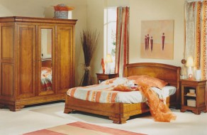 chambres louis philippe meubles hummel. Black Bedroom Furniture Sets. Home Design Ideas