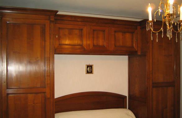 lit pont louis philippe merisier meubles hummel. Black Bedroom Furniture Sets. Home Design Ideas