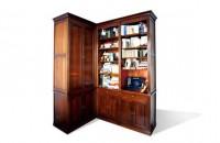 Meuble bibliothèque Louis XVI sur mesure