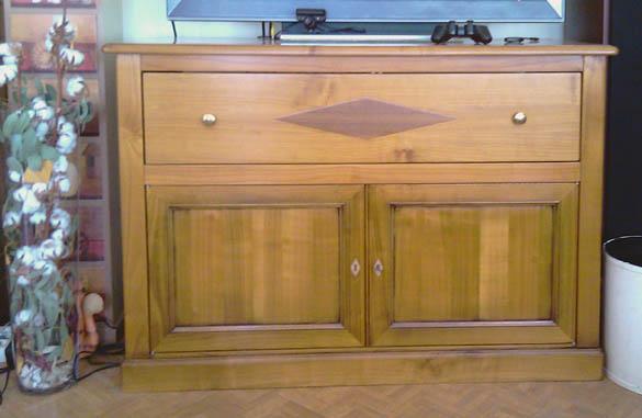 Meubles meubles hummel for Meuble tv en merisier