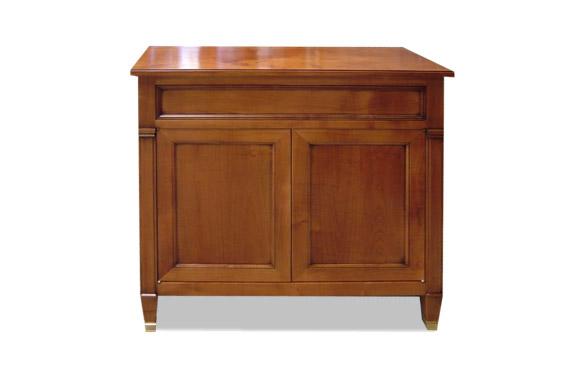 petit meuble deux portes en merisier meubles hummel