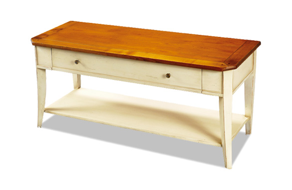 Table basse en merisier meubles hummel - Table basse merisier ...