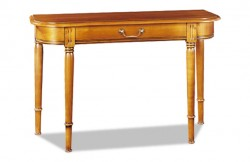 Table console extensible merisier Louis Philippe