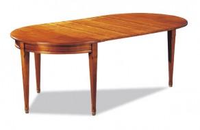 Tables demi lune meubles hummel - Table demi lune avec rallonge ...