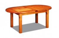 Table rustique avec allonges