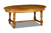 Table ovale rustique