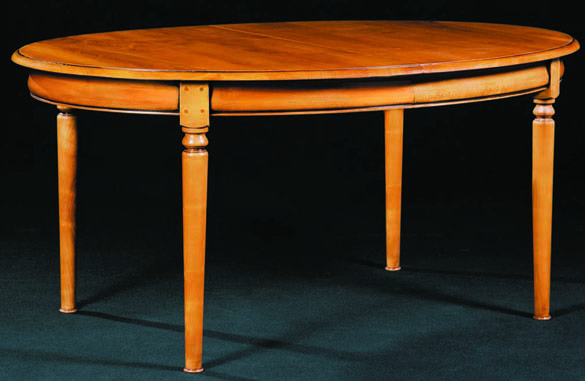 Table ovale louis philippe images - Table basse merisier ...