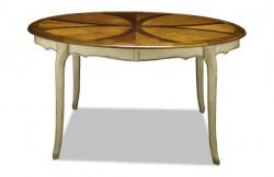 Table ovale merisier Louis XV