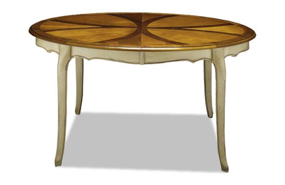 table ovale merisier louis xv meubles hummel. Black Bedroom Furniture Sets. Home Design Ideas