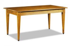 Table rectangulaire merisier massif