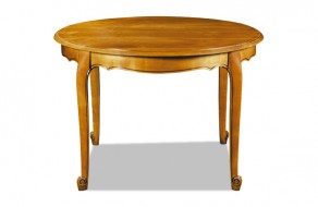 Table ronde louis XV avec allonges