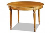 Table ronde Louis Philippe avec allonges