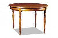 Table ronde merisier ou chêne