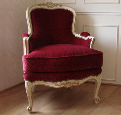 Bergère Louis XV Régence