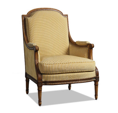 Bergère Louis XVI confortable
