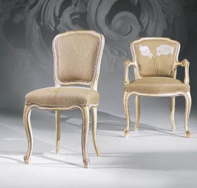 Chaise et Fauteuil Louis XV
