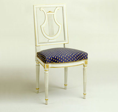Chaise Louis XVI Lyre