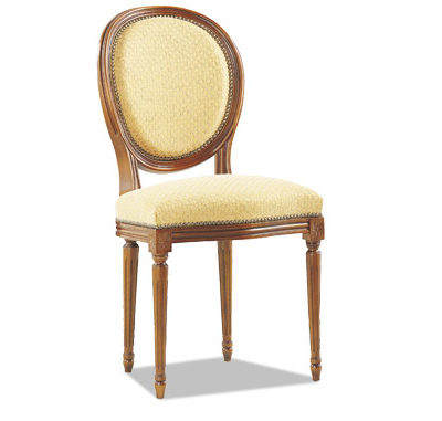 Chaise Louis XVI médaillon