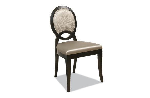 Chaise moderne noir