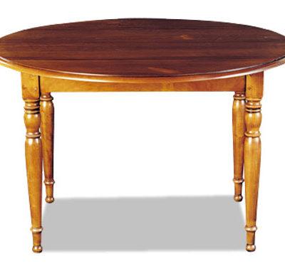 Table à volets de style merisier ou chêne