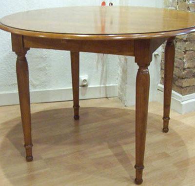Table à volets en chêne ou merisier