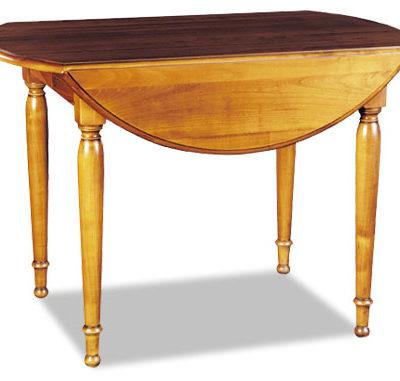 Table à volets en merisier ou chêne