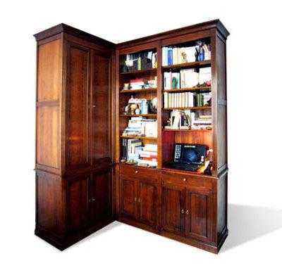 Meuble bibliothèque Louis XVI sur-mesure