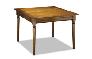 Table carrée style Louis Philippe