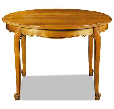 Table ronde au style Louis XV